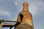 Oude ijzergieterij in Löa