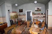 Klaslokaal in schoolmuseum
