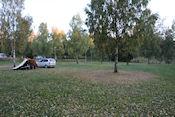Het wordt al herfst op camping Stenjällengården