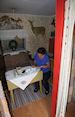 In het logboek schrijven in Hunters Hut