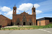 Monasterio de San Juan de la Peña, het nieuwe klooster