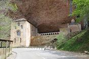 Monasterio de San Juan de la Peña, het oude klooster