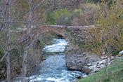 Oude brug bij Alós de Isil