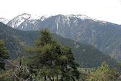 Uitzicht op de Pyreneën vanuit Andorra