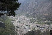 Uitzicht op Andorra