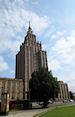 Academie van de Weternschappen in de wijk Moskou