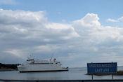 De boot naar Åva