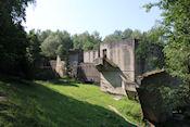 Kanal Mazurski - sluza Lesniewo Górne