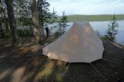 Ochtend op  camping Rasua