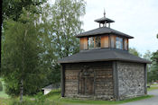 Kapel bij begraafplaats van Mouhijärve