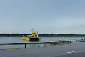 Wachten op de boot naar Vartsala