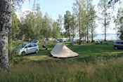 De hier nog rustige camping Ingestrand Swestrand