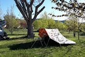 Camping Ain bij Jacca