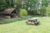 Laatste piknickplekje bij Roberval