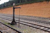 Vergane glorie op het oude station