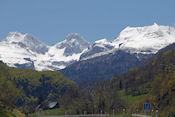 Uitzicht vanf de Col de Somport