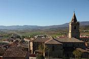 Uitzicht vanaf Navarrete