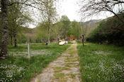De gesloten Camping San Fiz do Seo bij Trabadelo